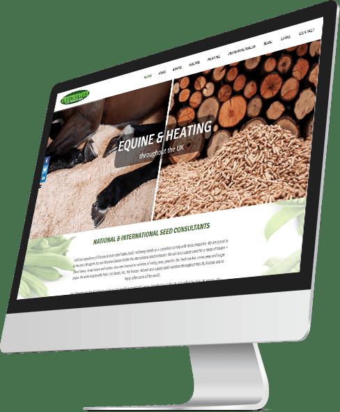 DT Seeds Website Design