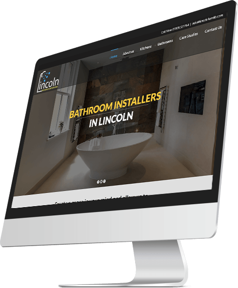 Lincoln Kitchens and Bathrooms Web Design