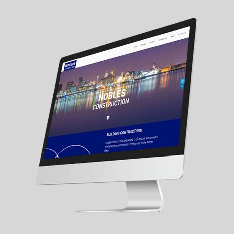 Nobles Construction Website